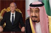 """العاهل السعودي """"يبارك"""" انقلاب سعيّد بتونس"""