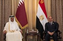 السيسي يلتقي أمير قطر للمرة الأولى منذ 6 سنوات (شاهد)