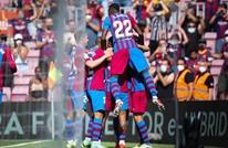 """برشلونة يطيح بضيفه خيتافي في """"الليغا"""""""