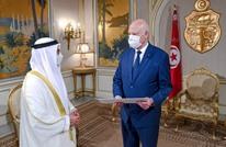 سعيّد يستقبل قرقاش.. والأخير يؤكد دعم الإمارات للانقلاب