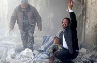 النظام يقصف قرى جسر الشغور ببراميل الكلور السام