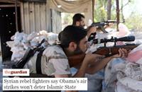 """عناصر """"الحر"""" للغارديان: حرب أميركا لن تهزم داعش"""