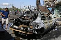 17 قتيلا بتفجير سيارة مفخخة في بغداد