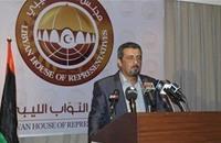"""""""النواب الليبي"""" ينفي توقيع اتفاق يتيح لجيش مصر التوغل بليبيا"""