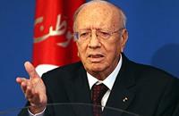 السبسي: تونس تأخرت 50 عاما بعد زين العابدين