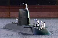 """الغواصة الألمانية """"دولفين"""" تصل إسرائيل اليوم"""