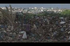 """مكبّات النفايات """"العشوائية""""..مكرهة صحيّة تلوّث حياة سكان غزّة"""