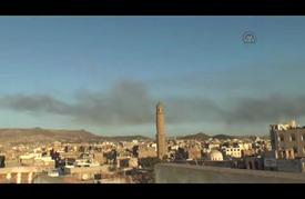"""""""التحالف"""" يقصف مجددا مخازن أسلحة للحوثيين وانفجارات تهز العاصمة صنعاء"""
