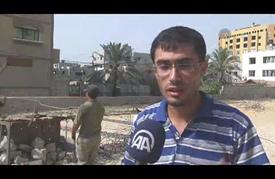 """مهنة """"تعديل الحديد"""" بغزة.. لُقمة عيش مُرّة"""