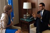 سفيرة أمريكا لدى الأمم المتحدة تلتقي محمد سلطان