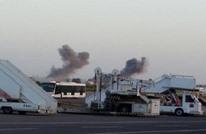 """""""الوفاق"""" تسقط طائرة بمصراتة.. وقوات حفتر تضرب مطار معيتيقة"""
