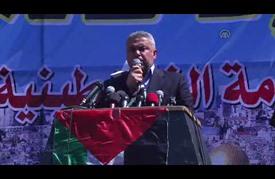 """مسيرات """"غضب"""" في قطاع غزة نصرة للأقصى"""