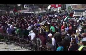 انطلاق مسيرات غاضبة في الضفة الغربية نصرة للأقصى
