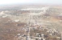 """""""النصرة"""" تبث مشاهد جوية لهجوم المفخخات على الفوعة (فيديو)"""