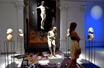 عالم السيرك في معرض لكوكوسينسكي في روما