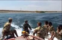 """جيش الإسلام يخرج أول دفعة """"ضفادع بشرية"""" بالثورة (فيديو)"""