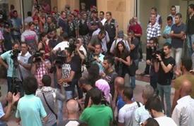 قوى الأمن اللبنانية تخرج بالقوة جميع المعتصمين في وزارة البيئة
