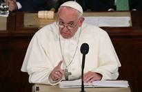 البابا: العالم في حالة حرب والأديان تريد السلام.. ولكن