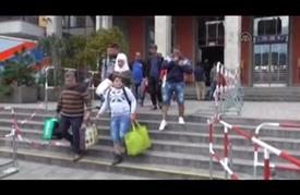 وصول آلاف اللاجئين إلى ميونخ الألمانية