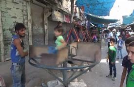 سكان مدينة حلب يحتفلون بعيد الأضحى المبارك