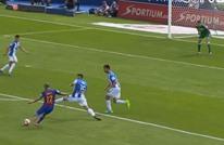 لاعب برشلونة يحرز هدفا عالميا من تسديدة صاروخية (فيديو)