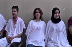 أعضاء بالمجلس الوطني الكردي ينهون إضرابا عن الطعام في القامشلي