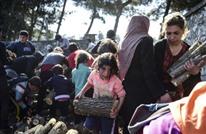 اندلاع حريق بمخيم للاجئين في اليونان يرغم الآلاف على الفرار