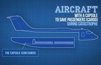 مخترع أوكراني يقترح مبتكرا لحوادث الطائرات.. ما هو؟ (فيديو)