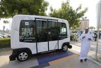 إطلاق حافلة ذاتية القيادة بمحرك كهربائي في دبي