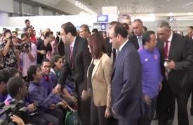 استقبال رسمي لأبطال تونس ذوي الاحتياجات الخاصة العائدين من ريو