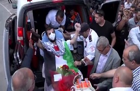 نقل الأسير القاضي  إلى مستشفى رام الله لاستكمال العلاج