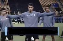 """رونالدو يخلق الحدث بتوتره وغضبه """"المفرط"""" بالتدريبات (فيديو)"""