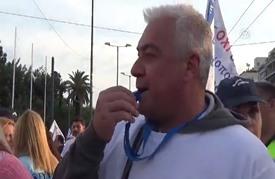 مئات اليونانيين يتظاهرون تنديدا بسياسات الحكومة للخصخصة