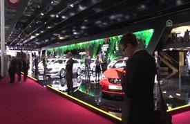 افتتاح معرض باريس الدولي للسيارات