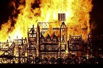 إحراق مجسم ضخم للندن في ذكرى حريق العام 1666