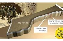 530 مليون دولار كلفة جدار إسرائيلي على حدود قطاع غزة