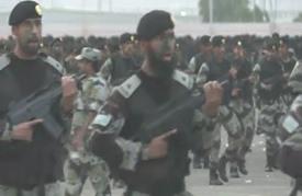 الأمن السعودي يقيم عرضا عسكريا قبل موسم الحج