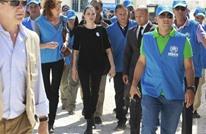 """""""أنجلينا جولي"""" تدعو إلى إيجاد """"حلول جذرية"""" للأزمة السورية"""