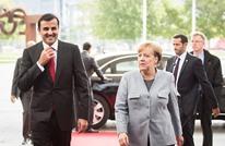 أمير قطر في برلين وميركل تؤكد سعي بلادها لحل الأزمة الخليجية