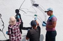 """الأردن..لاجئون يعيدون """"رسم فلسطين"""" ردا على الأونروا (شاهد)"""