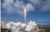 """هبوط ناجح لـ""""فالكون 9"""" فوق بارجة بعد رحلة للفضاء"""