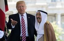 أول ظهور لأمير الكويت بعد خروجه من مشفى بأمريكا (شاهد)