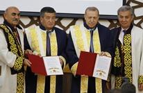 شهادة دكتوراه فخرية للرئيس التركي أردوغان (شاهد)