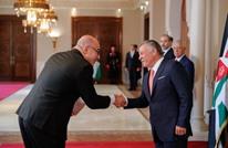 ملك الأردن يتسلم أوراق اعتماد سفير تل أبيب الجديد
