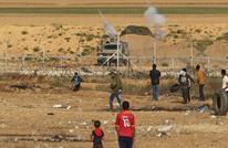 """إصابات بقمع الاحتلال المتظاهرين بجمعة """"المقاومة توحدنا"""" بغزة"""