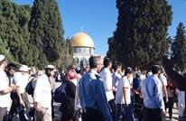 مئات المستوطنين يقتحمون الأقصى بحماية الاحتلال (شاهد)