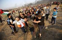 """عشرات الجرحى بمسيرات العودة بغزة بجمعة """"يوم الأسرى"""""""