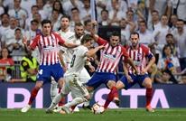 ديربي مدريد ينتهي باقتسام النقاط بين الريال وأتلتيكو