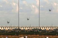 انفجار طائرة صغيرة في النقب المحتل أطلقت من غزة (صورة)
