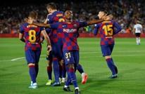 برشلونة يكتسح ضيفه فالنسيا بخماسية (شاهد)